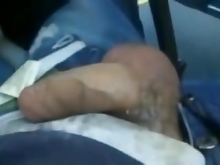 Jerk Off and BJ on the Bus