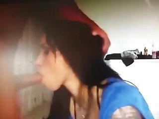 Sexy Latina Teen Slut gives a perfect Deepthroat (1)