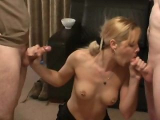 British Housewife BJ Party