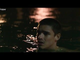 Alicia Vikander - Topless swimming, underwear - Son Of A Gun (2014)