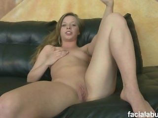 Angel Face Teenager Codi Rode Rough Blowjob