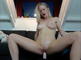 Hot dutch babe riding her sybian toy (wildestkitten)