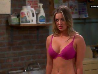 Kaley Cuoco - Flashes her bra, Big Boobs - The Big Bang Theory s07e11 (2013