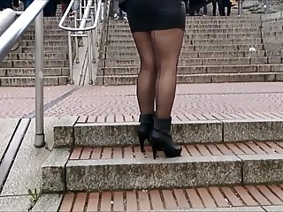 Leather skirt compilation