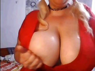 Spanish girl with huge tits (spitting)