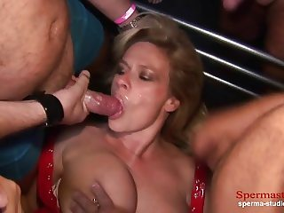 Multiple Cumshots Orgy - Marina Part 1 ------