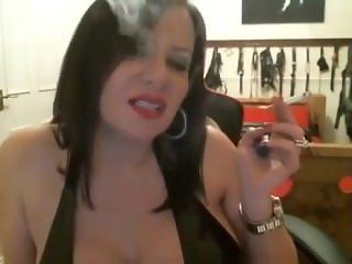 Anastasia Smoking