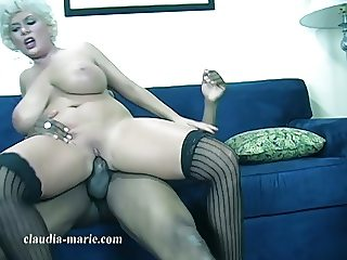 Huge Saggy Tit Prostitute Claudia Marie Stretched By BBC