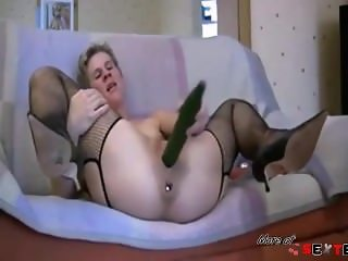 metal ball in the ass cucumber in the pussy