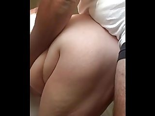 playing with her bbw body,fuck her in the ass,hidden