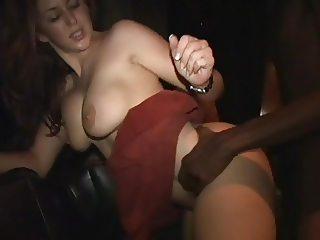 Isabella Soprano fucking a black guy at party 3