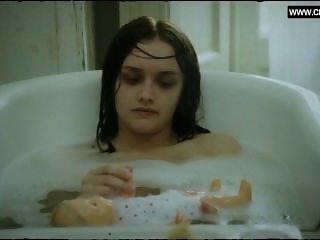 Olivia Cooke - Taking a Bath, Topless - The Quiet Ones (2014)