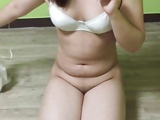 Cute Korean Girl show her hot body 26
