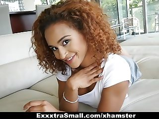 ExxxtraSmall - Little Teen Fucks Brutal Cock