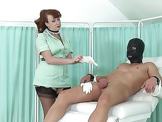 Nurse Red Wants You To Cum