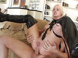 Melissa Facefucked Anal DP Slut