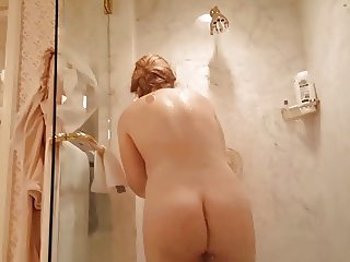 Voyeurism my hot wife showering