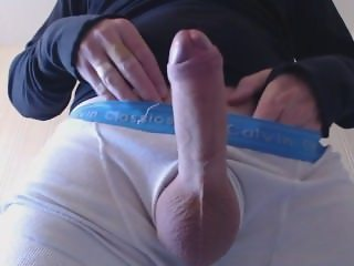 My solo 35 (Freshly shaved edge and cum closeup)