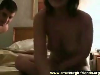 Amateur couple homemade sex tape part 1