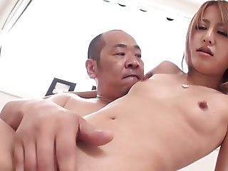 small tits girl with hitachi