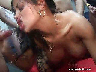 Cum Orgy Pervers - Tekohas and Mariska - P1 -------