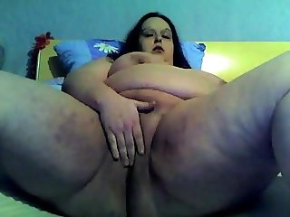 Nympho Slut Fat BBW Teen loves to spread the nasty pussy