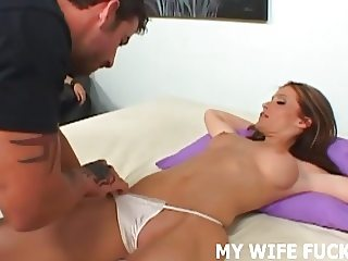 Watch you hot wife getting pounded by an alpha male