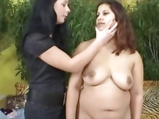 Mistress and het Chubby Maid 1