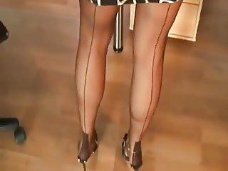 sexy legs in nylon