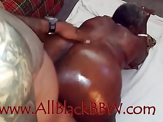 Big booty black BBW granny needed to CUM!!!