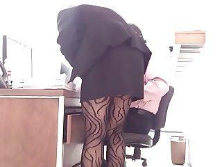 spy secretary sexy legs