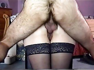 Passive Wife Creampie 013 Stockings, Oil