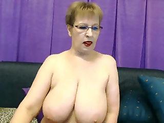 mila hot big boobs granny