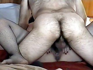Passive Wife Creampie 023 Stockings, Shiny Bra