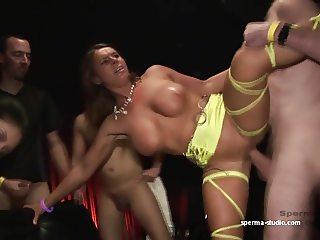 Gangbang Sensation  - Sexy Susi & Mariska - P2--------