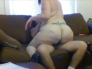 riding my next door friend while hubby went to work