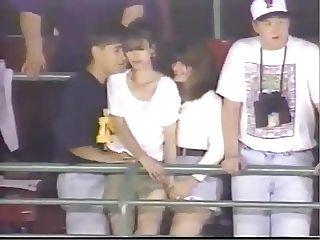 Groping In Stadium: Caught By TV