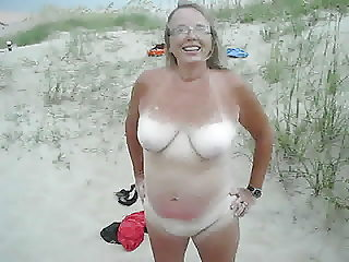 Wife See's fishermen videoing her naked at the ocean