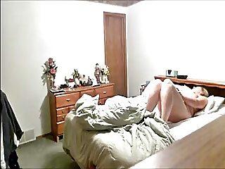 MILF Cums on Bed