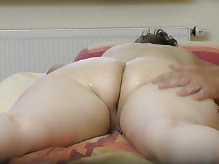 Big butt massage and pussy massage 2