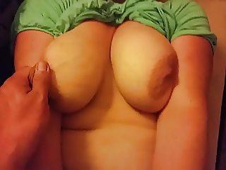 My bbw wife tits