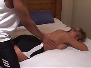 hotwife uses BBC as a workout and gets breeded