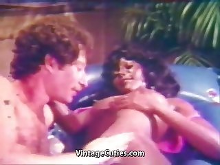 Black Babe gets Fucked all Over (1960s Vintage)