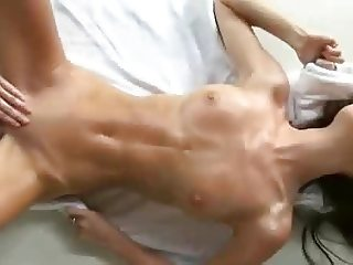 Orgasm Girl with abs