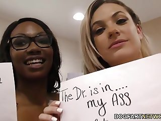 Lesbian Dahlia Sky and Skyler Nicole enjoying each other
