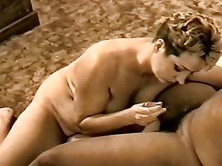 Slut Ann loves BBC and sperm