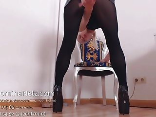 German Nylon Pantyhose JOI Teasing Wichsanleitung High Heels