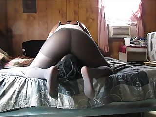 Pantyhose Smother Preview