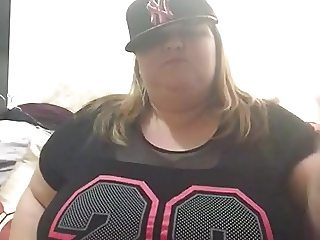 Fat SSBBW Biatch Dance and Strip