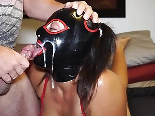 Whore Slave Cum shot